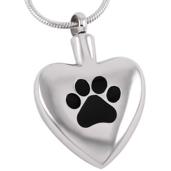 Dog Paw Print Pet Pendant