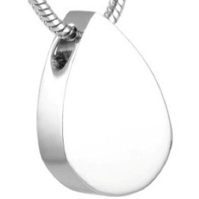 Flat Tear Drop Pendant