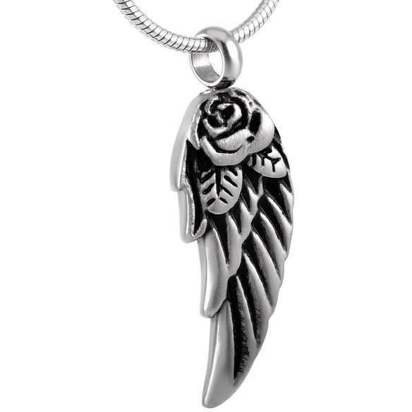 Rose Wing Pendant