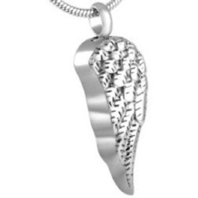 Detailed Angel Wing Pendant